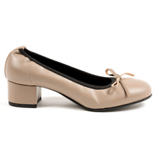 Andrew Charles D125 NAPPA TAUPE ballerina shoes Women's Taupe US