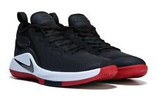 NIKE MENS LEBRON WITNESS II BLACK WHITE RED BASKETBALL SHOES **FREE POST AUST
