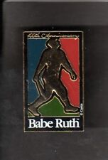 1995 100th Anniversary BABE RUTH New York Yankees  HAT PIN BACK BUTTON  Square