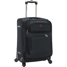 SwissGear Travel Gear 7297 Expandable Spinner Luggage Softside Carry-On NEW