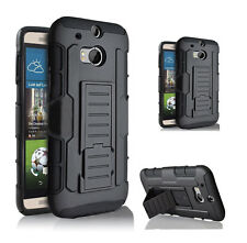 Heavy Duty Armor Tough Hybrid Rugged Hard Stand Case Shockproof Defender Cover