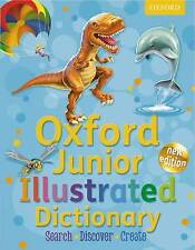 Oxford Junior Illustrated Dictionary, Oxford Dictionaries, Very Good