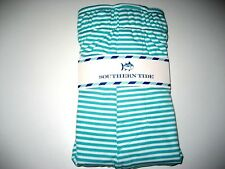 Southern Tide Mens Performance Striped Knit Boxer Briefs Tropical Palm Green NWT