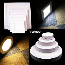 Surface Mounted LED Ceiling Downlight Panel Light 6W 12W 18W 24W 85 - 265V Lamp