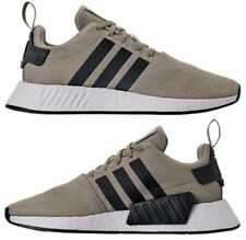 ADIDAS NMD R2 RUNNER CASUAL MEN's TECH BEIGE - CARBON - WHITE AUTHENTIC NEW SIZE