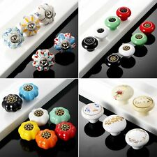 1/2pcs Cabinet Furniture Drawer Door Vintage Pull Knobs Retro Alloy Handles