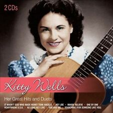Her Great Hits & Duets by Kitty Wells (CD, 2012, 2 Discs, Dynamic) UK Import