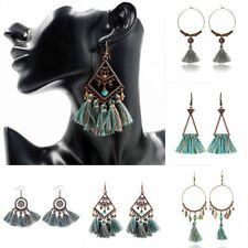 Retro Circle Flower Earrings Woman Fashion Party Prom Birthday Gift Daily Life