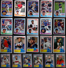 2018 Topps Series 1, 2 1983 35th Anniversary Baseball Cards You Pick From List