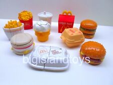 McDonalds Happy Meal Food Changeables Action Figures Transformers [CHOICE]