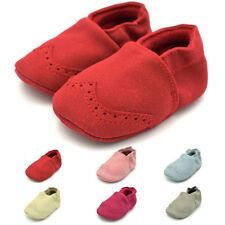 Baby Autumn Soft Sole Nubuck Leather Shoes Infant Boys Girls Toddler Moccasins