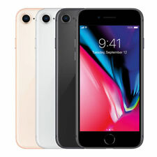 Apple iPhone 8 - 64GB Unlocked Smartphone LTE Gold, Red, Silver, Space Gray