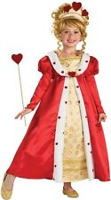 Royal Red Hearts Princess Complete Costume ~ Gown, Wand, Tiara, Rubies 883898