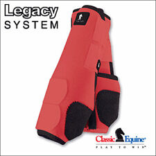 U-CLASSIC EQUINE LEGACY SYSTEM HORSE HIND SPORT BOOT PAIR CORAL