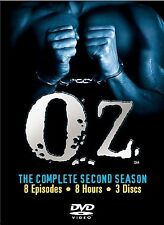 Oz - The Complete Second Season (DVD, 2003, 3-Disc Set, Three Disc Boxed Set)