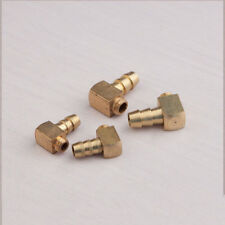 New 2PCS 90 Degree Brass M5 / M6 Threaded Water Nipple for RC Boat