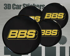 Wheel stickers BBS Center Cap Logo Badge Wheel Trims Rims Decal 3d Hub Caps