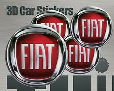 Wheel stickers Fiat Center Cap Logo Badge Wheel Trims Rims Decal 3d Hub Caps