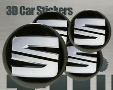 Wheel stickers Seat New Center Cap Logo Badge Wheel Trims Rims Decal 3d Hub Caps