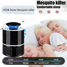 Electric Fly Bug Zapper Mosquito Insect Killer LED Light Lamp Pest Control MO