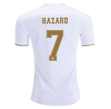 Real Madrid Home soccer Jersey Eden Hazard 7 (or any other name) men 19-20