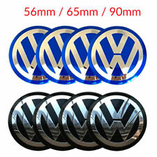 4x VW 56/65/90mm Car Wheel Center Hub Caps Emblem Badge Decals for Volkswagen