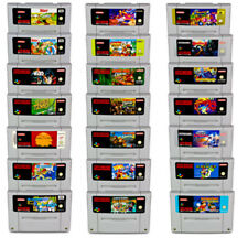 Snes Game Asterix Donkey Kong Schlümpfe Super Mario Allstars World Tiny Toon