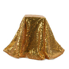 2019 60/80/100CM Sequin Glitter Tablecloth Cover For Wedding Event Party ~