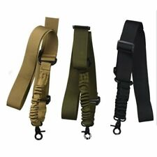 Tactical One Single Point Bungee Rifle Guns Sling Strap Airsoft Military