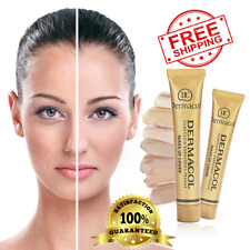 Dermacol High Cover Makeup Foundation Waterproof SPF-30K.MAKE UP COVER SHIP USA