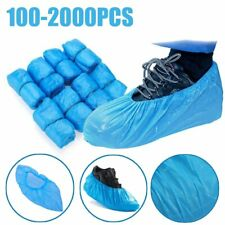 100-2000PCS Hot sale Medical Waterproof Anti Slip Boot Covers Plastic Disposable