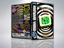 Bubble Bobble: ft Rainbow island - Saturn - Replacement Case / Cover - (NO GAME)