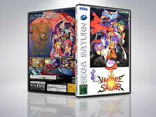 Vampire Savior - Saturn - Replacement Case / Cover - (NO GAME)