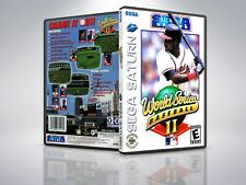 World Series Baseball 2 - Saturn - Replacement Case / Cover - (NO GAME)