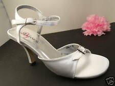 Dyeable Prom or Bridal Shoes Jasmine Satin