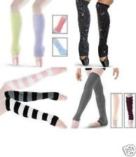 NEW Dance Ballet Many Solid Colors or Stripe Leg Warmers Child & Adult