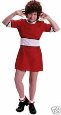 Annie Dress Child Little Orphan Annie Costume Red Annie Dress  1726