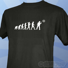 Evolution of a Darts Player T-Shirt Phil Taylor Board