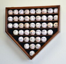 43 Baseball Display Case Cabinet Holder Wall Rack Box