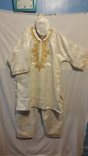 African Clothing 3PC Men Pant Suit Outfit XL 1X 2X 3X