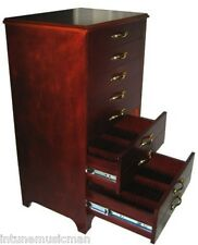SHEET MUSIC CD DVD CABINET Storage Piano Instrument