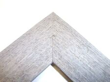"""2"""" Wide Rustic Gray Barnwood Picture Frame-Standard"""