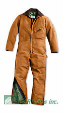 Walls Waist Zip Insulated Coveralls - Men's Sizes 3XL - 6XL