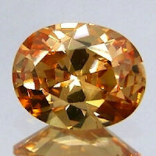 AAA Rated Oval Bright Champagne Colored Cubic Zirconia (5x3mm-25x20mm)