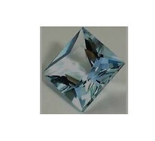 AAA Rated Square Aquamarine Blue Green Cubic Zirconia (2x2mm-14x14mm)
