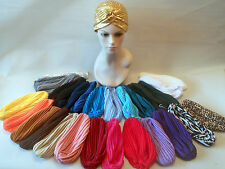 One Size Indian Asian style Turban Hair wrap Hat Trendy Ideal for hair loss