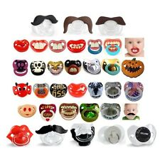 30+ Styles Billy Bob Pacifiers Dummy Baby Teether Pacy Orthodontic Nipples