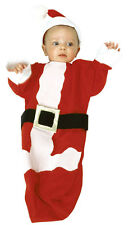 Santa Claus Bunting Christmas Halloween Cute Baby Infant Toddler Child Costume