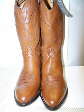 NEW LUCCHESE T3097 TAN LONESTAR CALF COWBOY BOOT J TOE MADE IN TEXAS