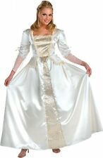 Pirates of the Caribbean Elizabeth White Dress Up Halloween Deluxe Adult Costume